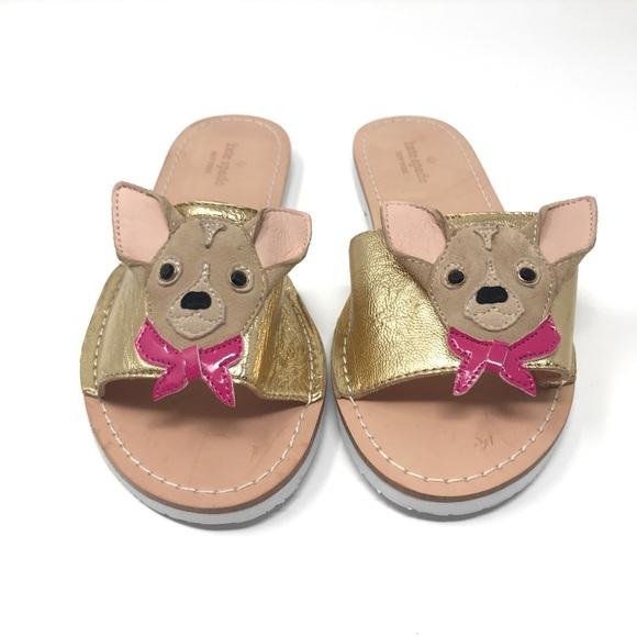 b9b265b6ab4d kate spade Shoes - Kate Spade Isadore Chihuahua Slide Sandal